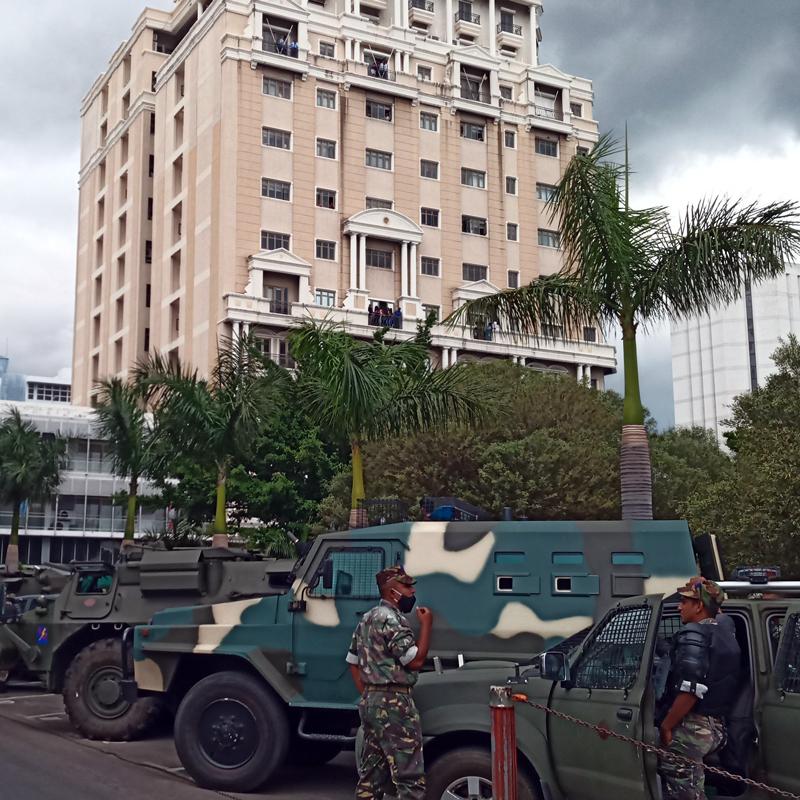 7th January 2021… Port Louis besieged?