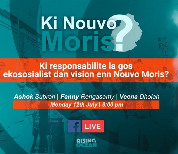 What is the responsibility of the eco-socialist leftists in the vision of a new Mauritius?