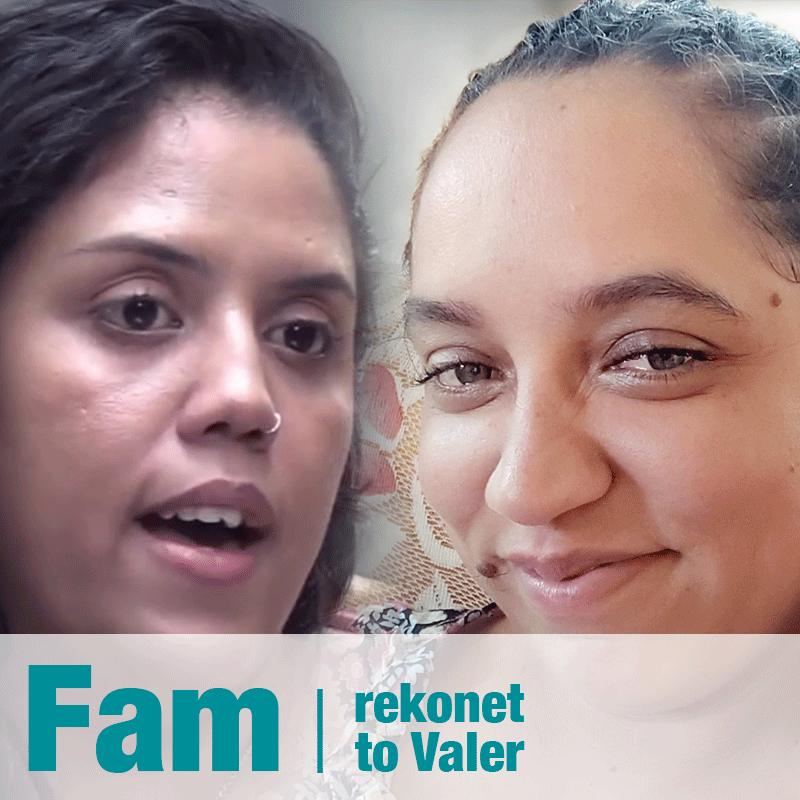 Fam Rekonet to Valer – Julienne Meunier