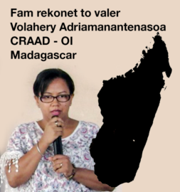 Fam rekonet to valer – Volahery Adriamanantnasoa